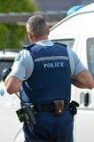 Полиция Новой Зеландии Стоковая Фотография