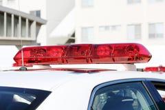 Полиция освещает, сирена полиции Стоковое Фото