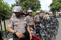 Полиция патрулирует Стоковое Фото