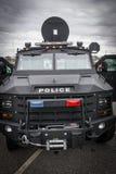 Полиция перевозит на грузовиках Стоковое Фото