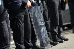 Полиция по охране общественного порядка Стоковая Фотография
