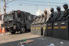 Полиция Choque Стоковое Изображение