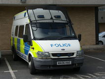 Полиция Riot фургон Стоковые Фото