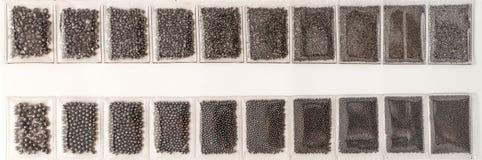 Полиэтиленовые пакеты с песчинкой стоковые изображения