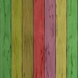 Пол или таблица текстуры деревянной планки цвета безшовные Стоковое Изображение