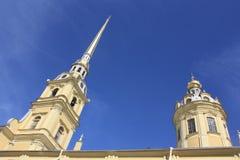 Пол и крепость на Санкт-Петербурге Стоковое Изображение