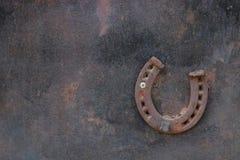Подкова на стене Стоковое Изображение RF