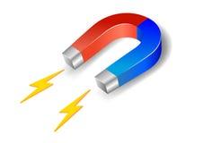 подковообразный магнит Стоковое Изображение RF