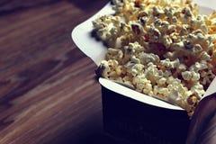Пол коробки попкорна Стоковая Фотография