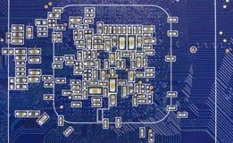 подкраска компьютера голубых фишек Стоковое Изображение RF