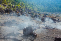 Пол кратера Стоковые Фото