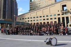 Полк 2 Торонто шотландский стоковое фото rf