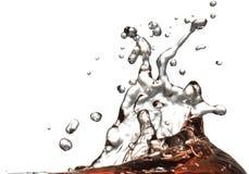 по мере того как возможный выплеск предпосылки для использования воды Стоковое Изображение