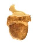 по мере того как, котор слезли спираль кожи картошек бесплатная иллюстрация