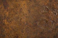 по мере того как металл предпосылок заржавел текстуры полезные Стоковые Изображения RF