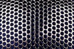 по мере того как металл решетки клеток предпосылки круглый Стоковая Фотография