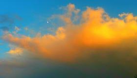 По мере того как небо растет тусклым стоковые фото