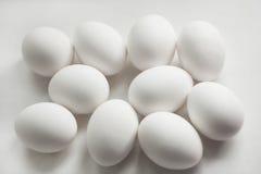 по мере того как предпосылка eggs серия Стоковые Фото