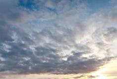 по мере того как предпосылка может изобразить используемую текстуру неба Стоковые Фотографии RF