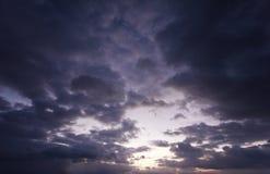 по мере того как предпосылка может изобразить используемую текстуру неба Стоковое Фото