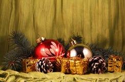по мере того как предпосылка может используемая тема иллюстрации рождества Стоковые Изображения RF