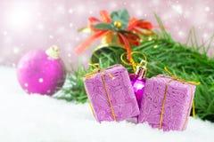 по мере того как предпосылка может используемая тема иллюстрации рождества Стоковые Фото