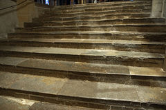 по мере того как предпосылка может используемый камень шагов Стоковая Фотография