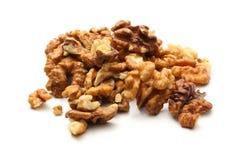 по мере того как предпосылка может навалить используемые грецкие орехи Стоковое Изображение RF