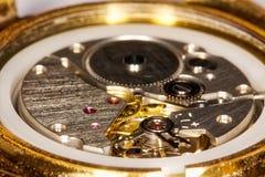 по мере того как предпосылка может поднимающее вверх clockwork близкое использовать Стоковая Фотография RF