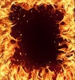по мере того как предпосылка может сгореть пользу рамки Стоковое Фото