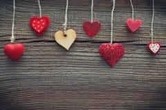 по мере того как предпосылка может valentines используемые открыткой Стоковая Фотография RF