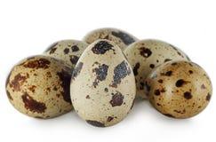по мере того как предпосылка eggs много триперсток Стоковые Фото