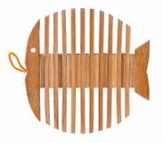 по мере того как стойка рыб каркасная деревянная Стоковые Фото