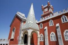 1995 по мере того как столетие культурный da замока датирует ландшафт lisbon ixth наследия причаливают около мира взгляда unesco  стоковые фотографии rf
