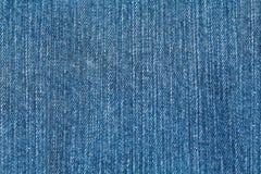 по мере того как текстура джинсыов предпосылки Стоковое Фото