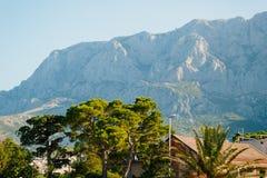 по мере того как туман настольного компьютера предпосылки вниз падая идет гора montenegro komovi славная грейте на солнце Туман п Стоковое Изображение RF