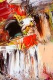 по мере того как холстина предпосылки покрасила Стоковая Фотография RF