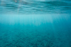 Под морем Стоковое фото RF