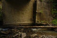 Под мостом Стоковые Фотографии RF