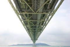 Под мостом kaikyo akashi Стоковое Изображение