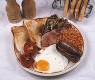полная завтрака английская Стоковые Фотографии RF