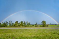 полная радуга Стоковая Фотография RF