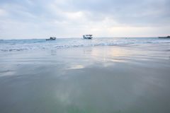 Под небом, красивое море Стоковое Изображение RF