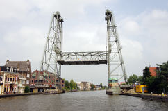 подниматься моста Стоковое Изображение