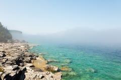 Подниматься тумана утра стоковое изображение
