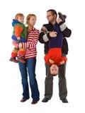 поднимать малышей беспорядка Стоковое Фото