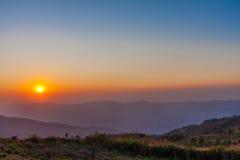 Поднимать Солнця Стоковое Изображение