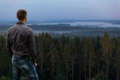 Поднимать тумана Стоковые Изображения RF