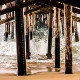 Поднимать уровней океана Стоковая Фотография