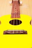 Поднимающее вверх гавайской гитары близкое Стоковое Фото